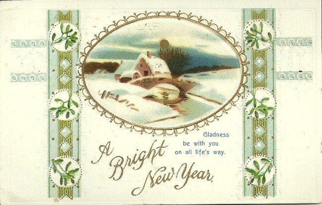 A Bright New Year Card