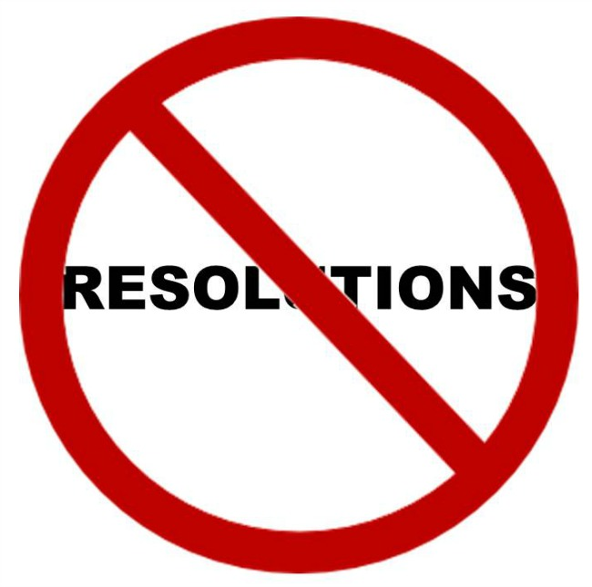 Let's Re-Brand the Concept of Resolutions!