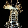 Silver Tinsel Bell in Tribute to Sandy Hook Elementary