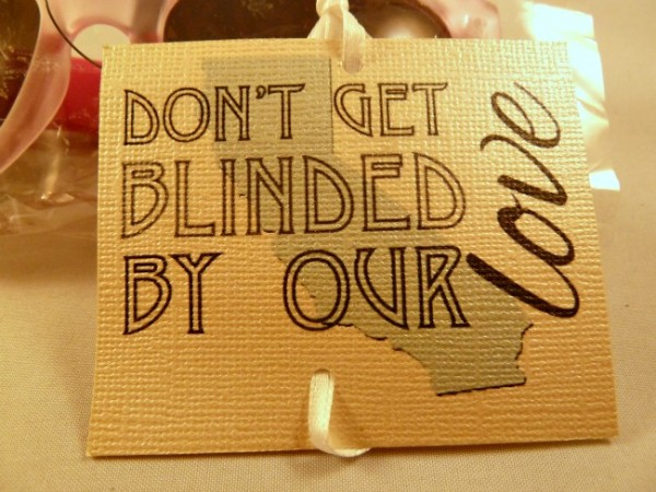 Don't Get Blinded Tag