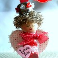 Valentine's Salt Shaker Angel at littlemisscelebration.com