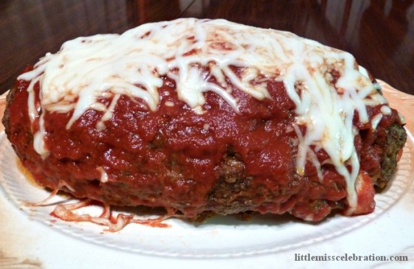That's a Lotsa Mozzarella Meatloaf!