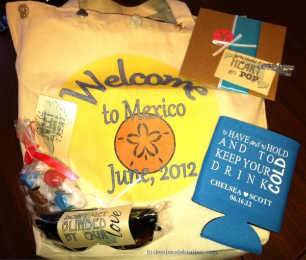 ... destination and a big sprinkle of fun, you ll create welcome bags