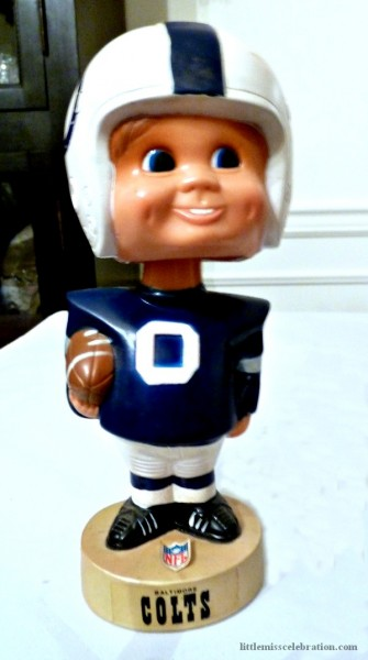 Baltimore Colts Bobblehead