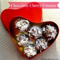 Chocolate Cherry Creams