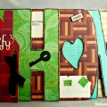 Contemporary Home Word Album at littlemisscelebration.com