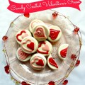 Candy coated Valentine's Oreos