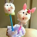 Easy DIY Bunny Pencil Toppers