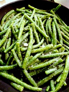 Caesar green beans sauteeing - fast, easy, delicious side ...