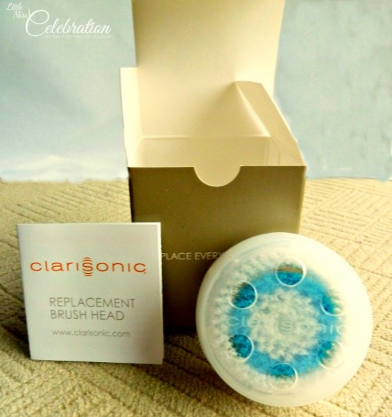 Clarisonic deep pore cleaning brush
