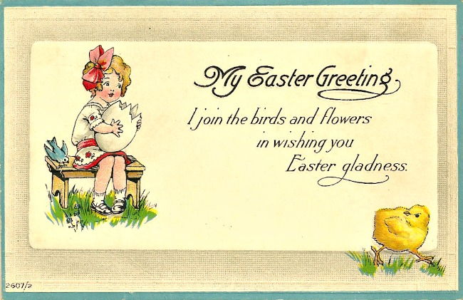 A happy easter day little miss celebration vintage easter card at littlemisscelebration cindyeikenberg m4hsunfo