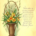 Vintage Easter Card at littlemisscelebration.com @CindyEikenberg