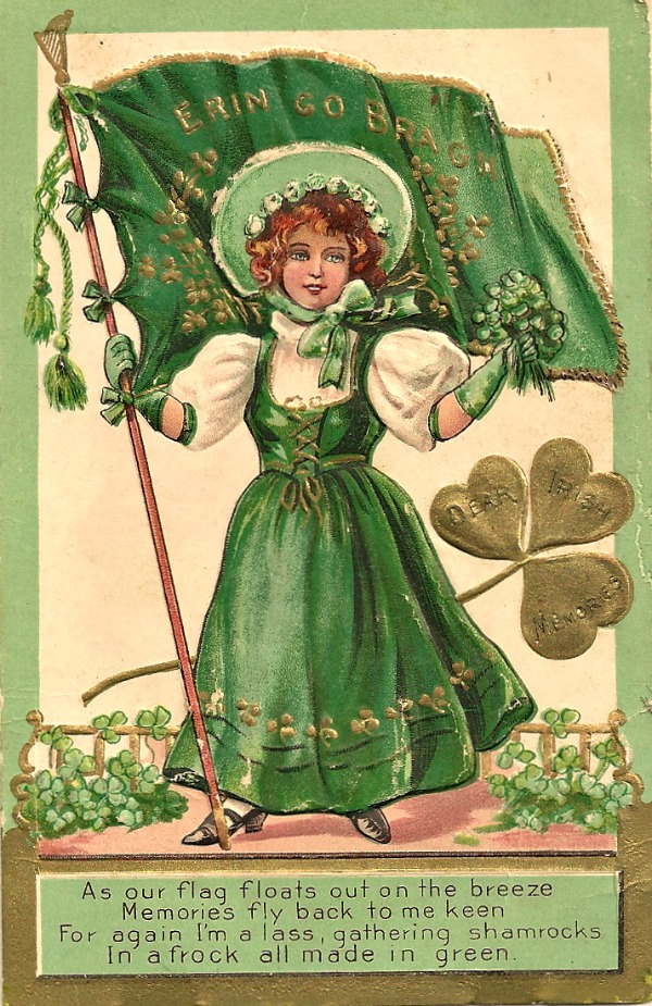 Alfa img - Showing > St. Patrick's Day Vintage Cards