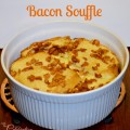 Bacon Souffle, an easy and delicious brunch dish! Get the recipe at littlemisscelebration.com @CindyEikenberg