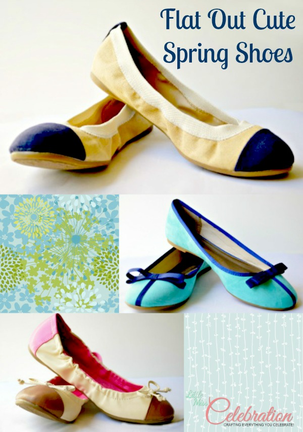 Flat out loving Spring flats at littlemisscelebration.com
