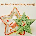 The grad is a star! Star dish & origami money gift at Little Miss Celebration @CindyEikenberg