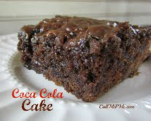 Coca Cola Cake from Call Me PmC