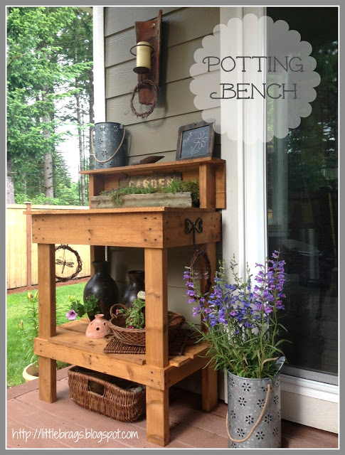 Potting Bench from Little Brags