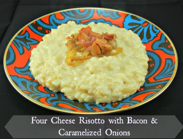 Four-Cheese-Risotto-with-Bacon-Caramelized-Onions.from The Tasty Fork