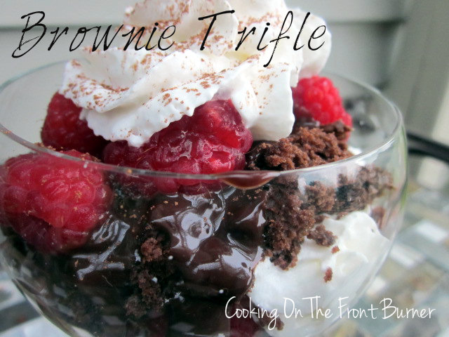 Brownie Trifle from Cooking on the Front Burner