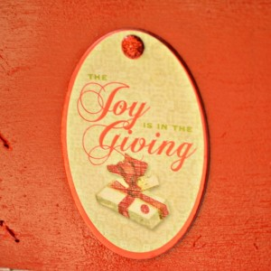 Joy is in the Giving