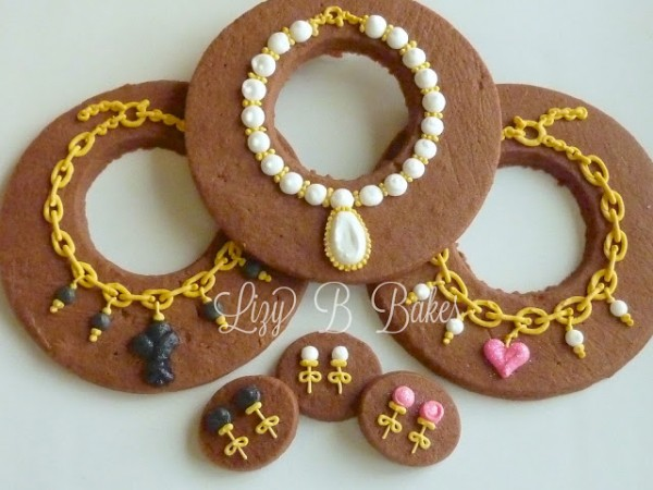 Jewelry Cookies from Lizy B