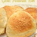 Easy Bread Dough Garlic Parmesan Rolls! Fast, fresh, delicious rolls using frozen bread dough! At Little Miss Celebration