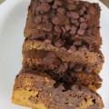 Chocolate Pumpkin Zucchini Bread at ALittleClaireification.com #recipes #pumpkin #fall