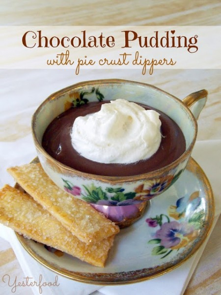 Chocolate Pudding by Yesterfood