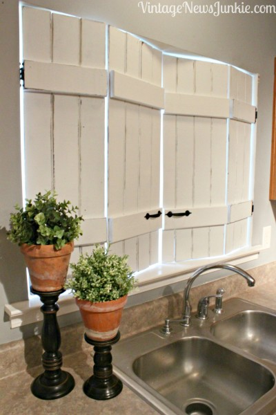 Unique Kitchen Shutters by Vintage News Junkie