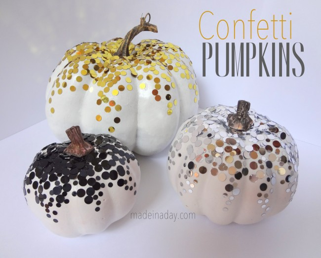 Confetti-Pumpkins by Made in A Day