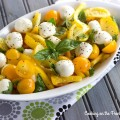 Lemon Caprese Salad - Guest post from Cooking on the Front Burner