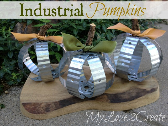 Industrial Pumpkins from My Love 2 Create