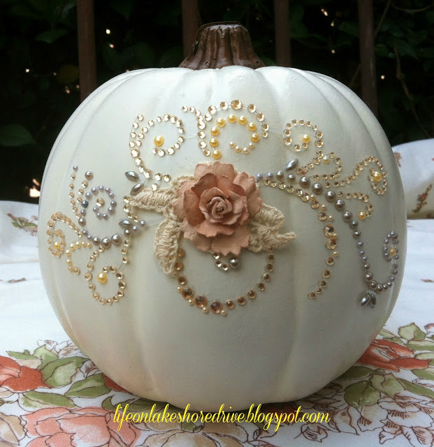 Pumpkin Glitz & Glitter by Life on Lakeshore Drive