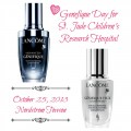 Genefique Day to support St. Jude Children's Research Hospital on October 25, a day when beauty gives back.