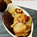 Home Fried Potatoes & Onions - straight from my Mom's kitchen, perfect comfort food! littlemisscelebration.com