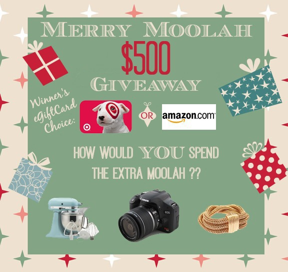 Merry Moolah $500 Givewaway at Little Miss Celebration!