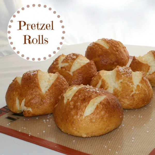 Pretzel Rolls from Recipes, Food and Cooking