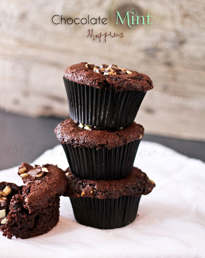 Chocolate Mint Muffins from Kleinworth & Co.