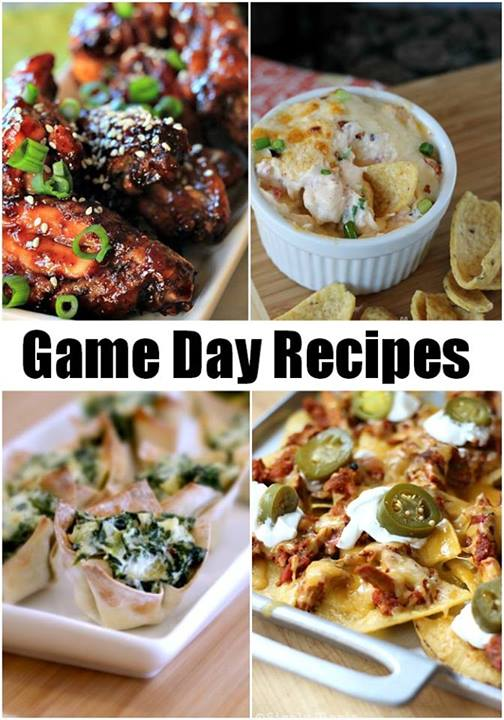 Game Day Recipes + $500 Super Bowl cash giveaway at littlemisscelebration.com