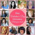 Etsy Valentine's Day Giveaway at littlemisscelebration