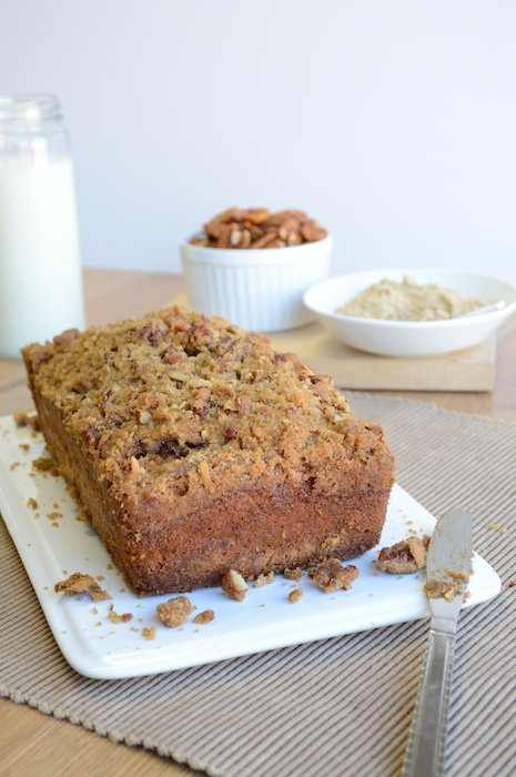 Banana Streusel Bread from The First Year Blog