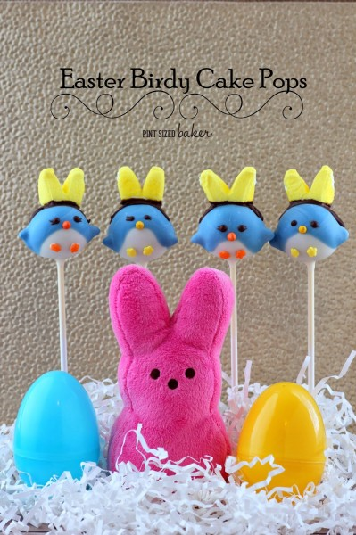 Easter Birdy Cake Pops from Pint Sized Baker