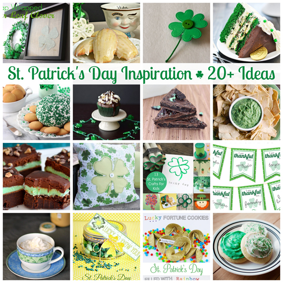 20+ Ideas for St. Patrick's Day at littlemisscelebration.com