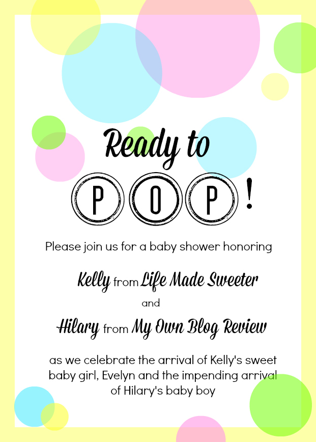 Sweet & Salty Candy Popcorn Pops, an easy, no bake treat or favor perfect & fun for a baby shower!