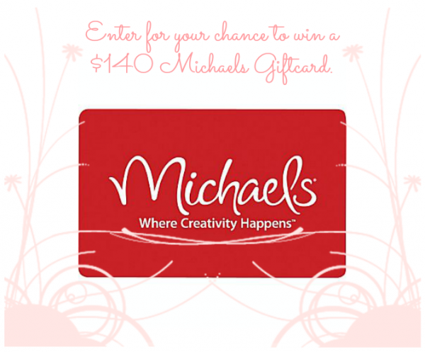 Get your spring crafting started with a Michael's Gift Card giveaway! At littlemisscelebration.com