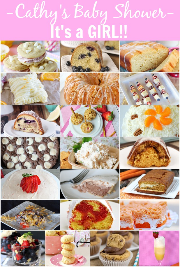 Lots of fabulous recipes for a baby shower! littlemisscelebration.com