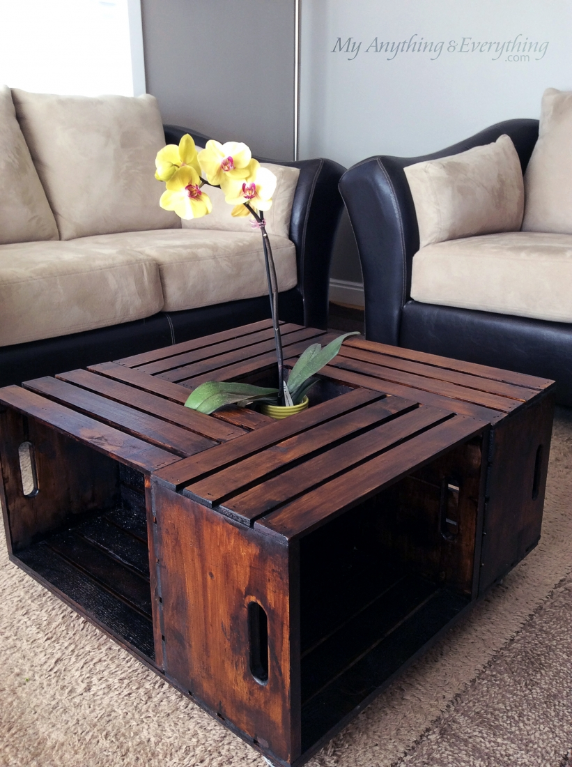 Crate Coffee Table from Anything and Everything