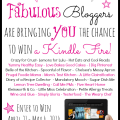 Meet some fabulous bloggers and grab your chance to win a Kindle Fire - for Mom, for Dad, the Grad or You! at littlemisscelebration.com