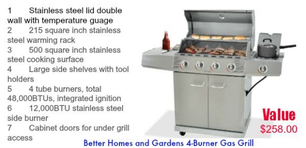 Summer Barbecue Party & Giveaway - win a Gas Grill! At littlemisscelebration.com